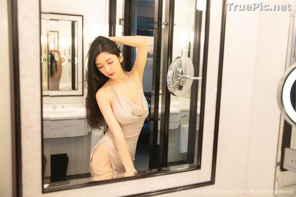 Image XIUREN No.1141 - Chinese Model - Xiao Reba (Angela小热巴) - Sexy Dress Tonight - TruePic.net - Picture-31