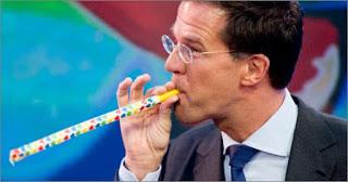 Smesna slika holandskog predsednika