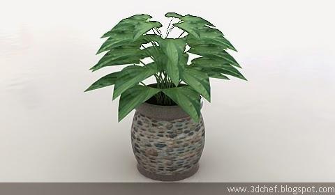 plant 3d model free