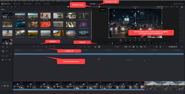cut page tools transform crop audio speed camera