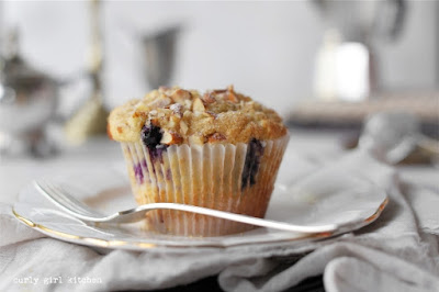 Blueberry Muffins, Bakery Style Muffins, Blueberry Almond Muffins, High Altitude Blueberry Muffins, Muffins Photography