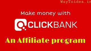 Clickbank affiliate program make money online