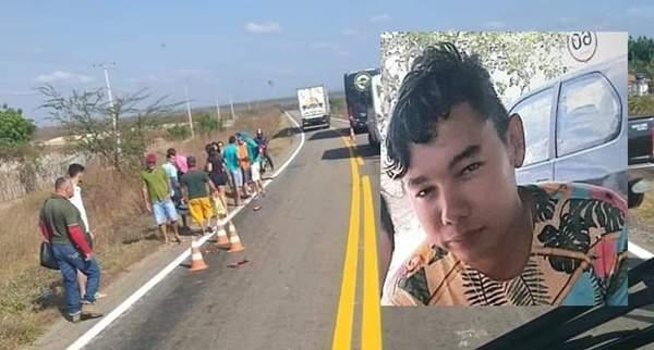 Motociclista morre após bater em ônibus na Morada Nova