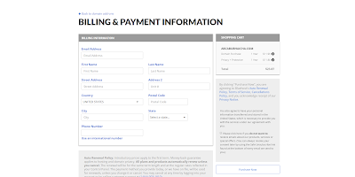 Billing and Payment Information