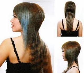 Kỹ thuật cắt Kiểu tóc đuôi cá nữ
