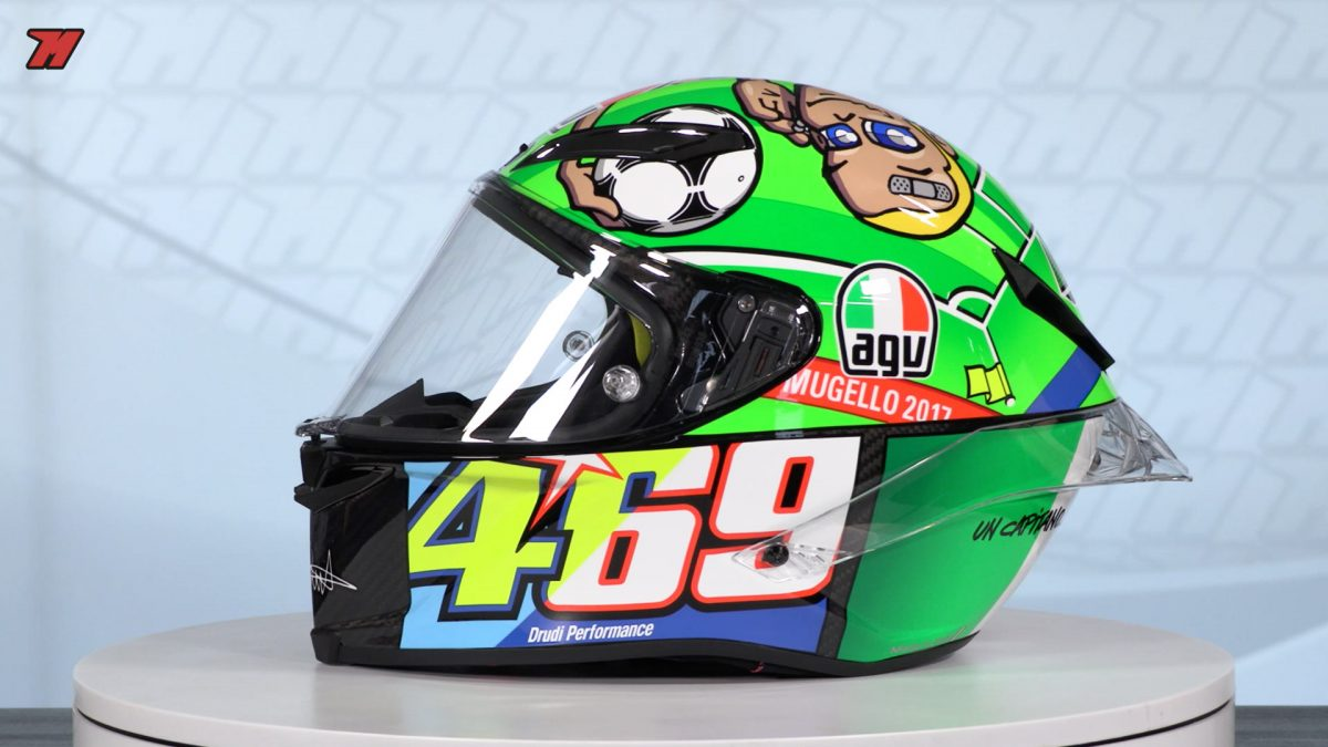 Story Behind Valentino Rossi S Helmet Designs And Some Of Our Favorite Ones