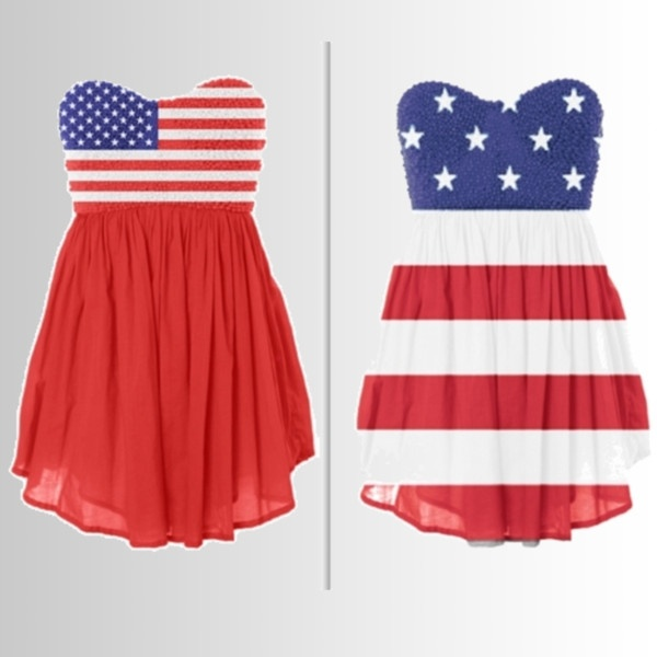 Long Dogz Mom: Featured Wedding Theme: Red, White & Blue