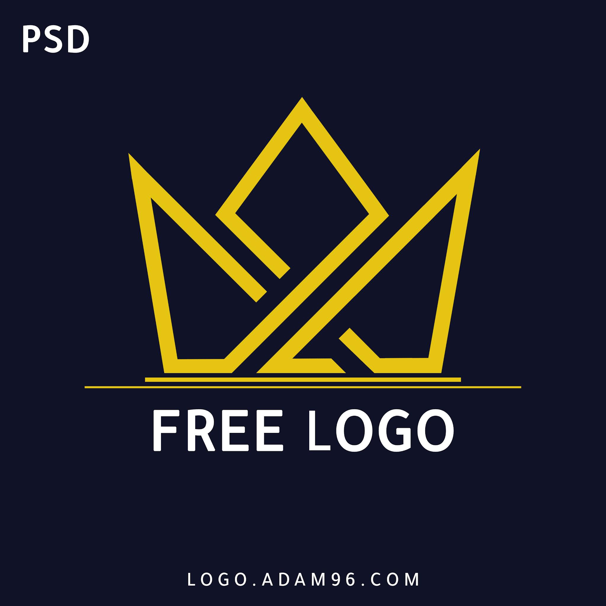 تحميل شعار احترافي مجاناً بدون حقوق يسمح في اعادة الاستخدام FREE LOGO PSD