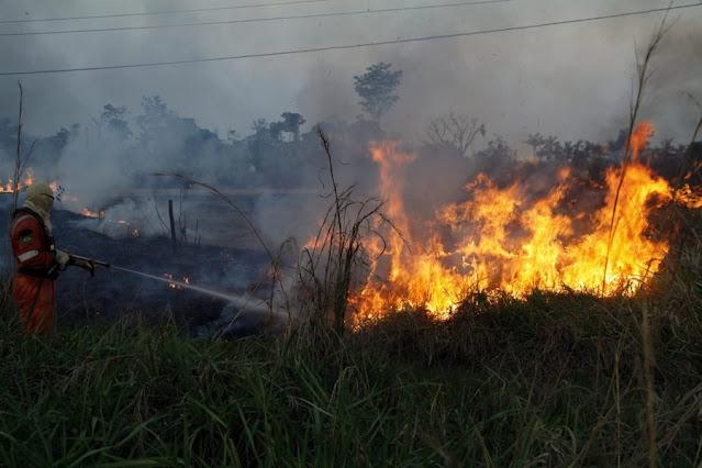 Emater percorre propriedades rurais e reforça importância da prevenção às queimadas em Rondônia