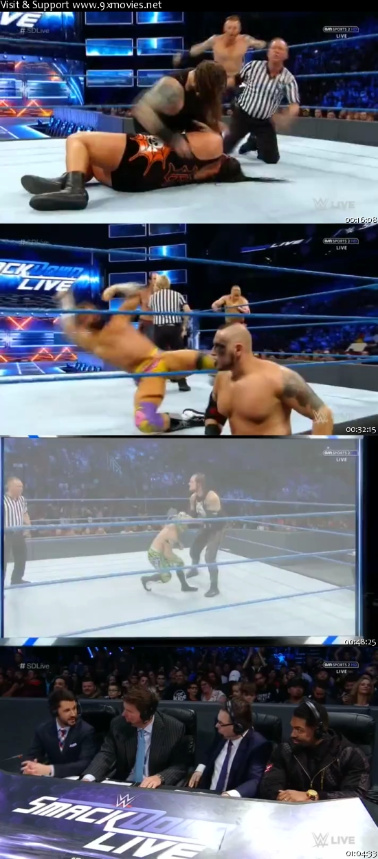 WWE Smackdown Live 06 Dec 2016 HDTV 480p