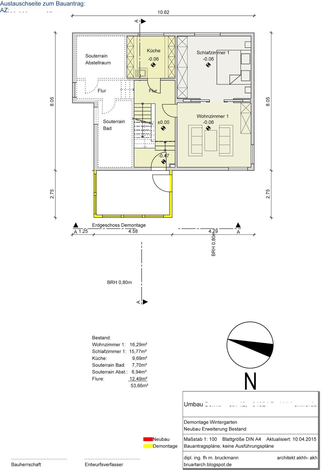 Architektur kreativit t kunst bauantrag abbruch for Architektur 4 1
