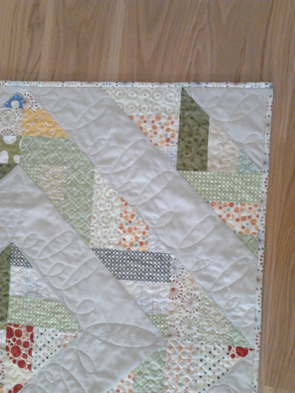 stitch quilt knit: Bunny Baby Quilt