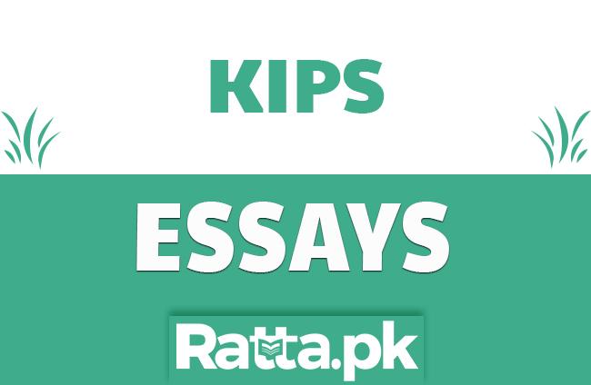 KIPS English Essays pdf Download
