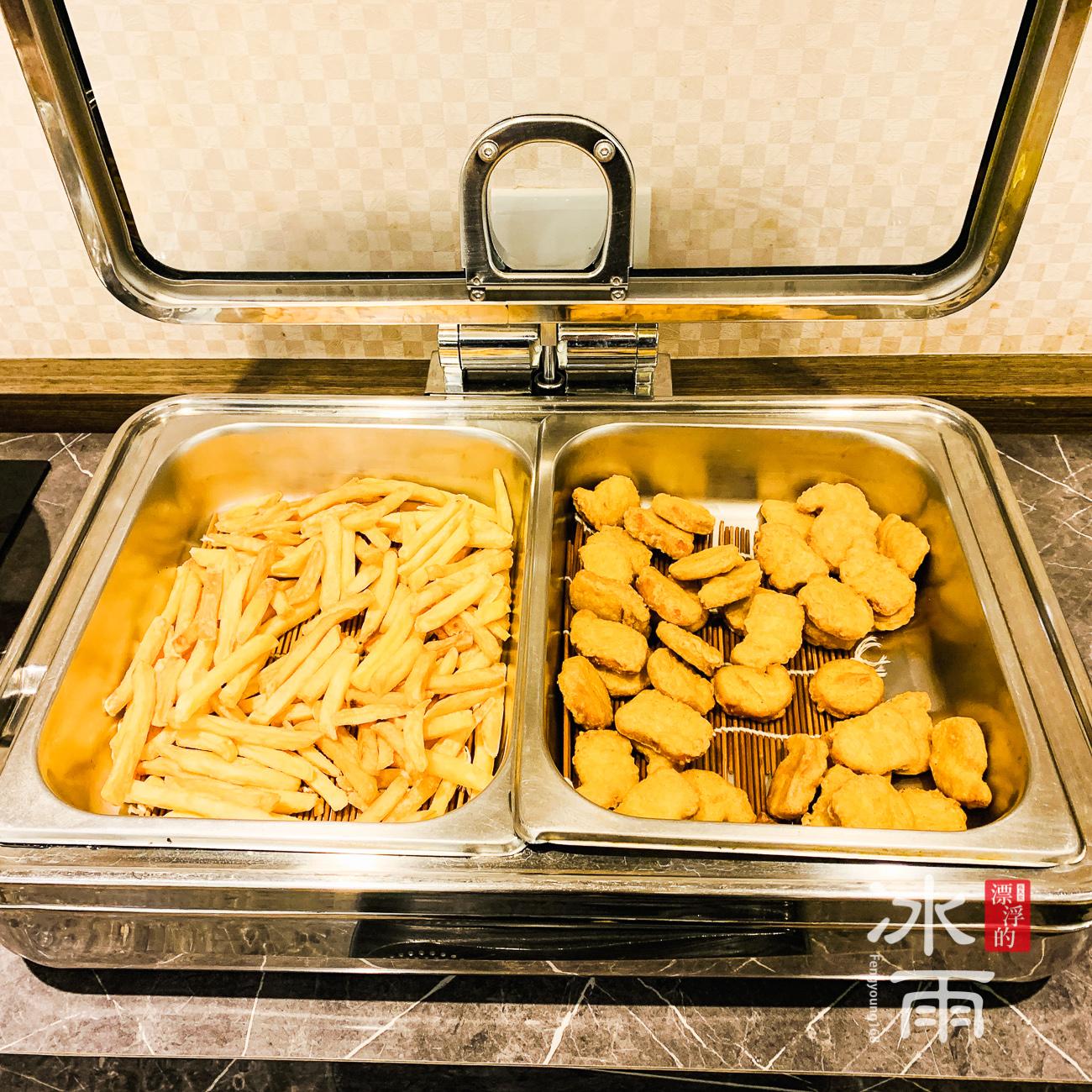 川湯春天溫泉飯店德陽館|早餐|炸物