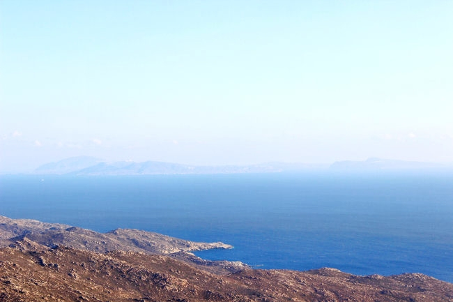 photography of Ios island in Greece