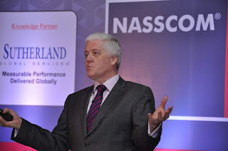 Steve Towers keynotes at NASSCOM