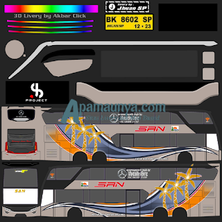 Download Livery Bus JB2+ SDD SAN
