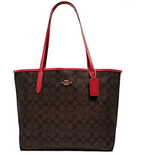 best COACH WOMENS City Tote In Signature Canvas