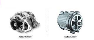Alternator and generator