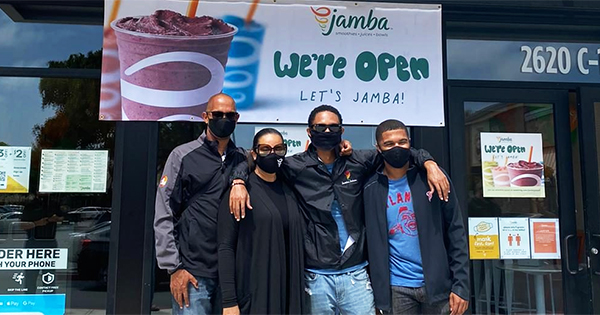 Redmon family, owners of 20 Jamba Juice franchises