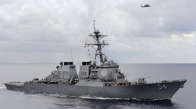 China Kembali Kecam Transit Kapal Perang AS di Selat Taiwan