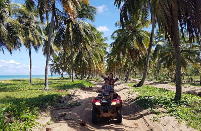 O que fazer em Maceió: Praia do Gunga