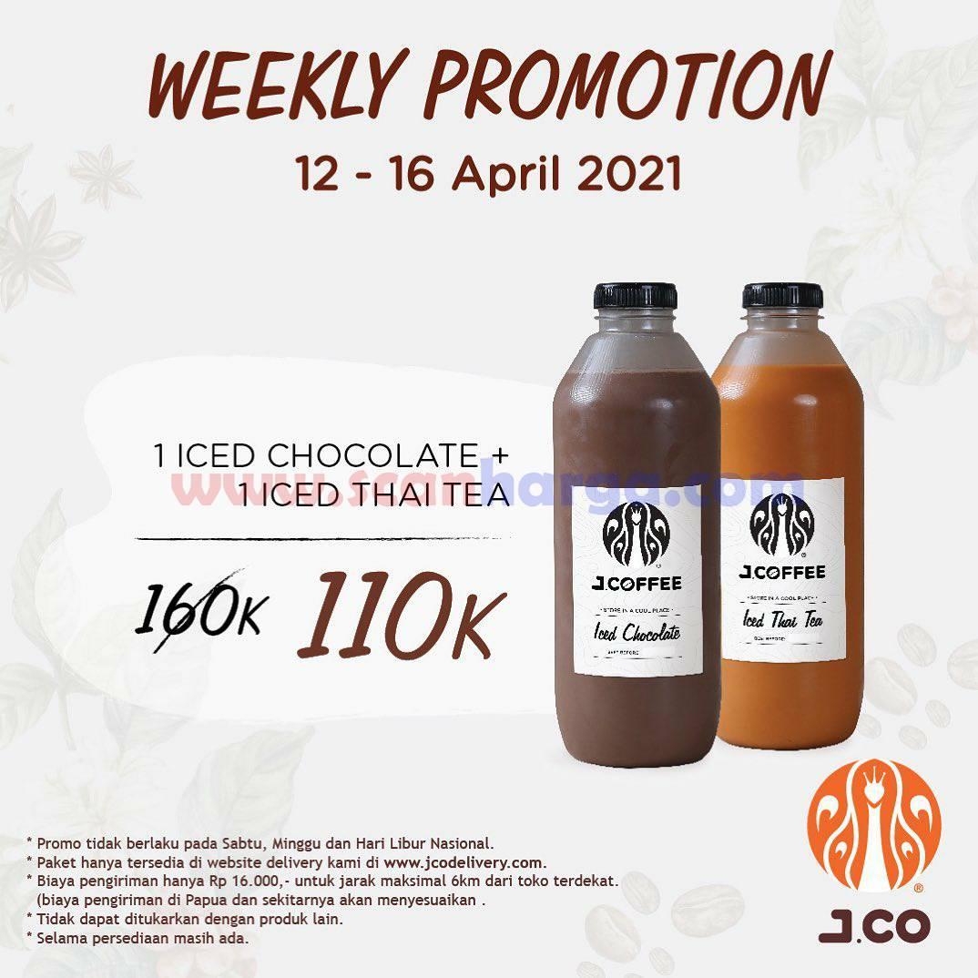 JCO Weekly Promotion  12 - 16 April 2021