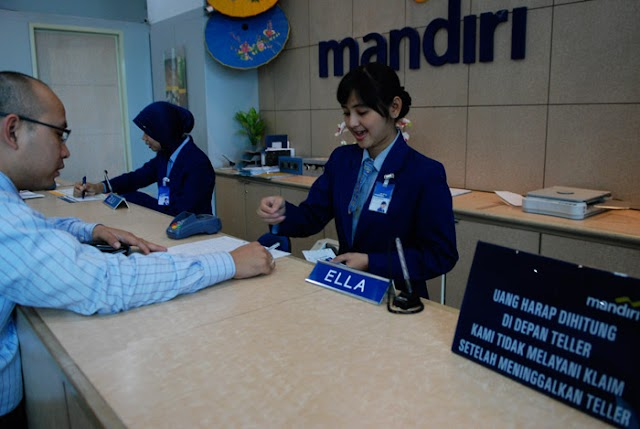 Lowongan Kerja Bank Mandiri - Back Office HR Staff