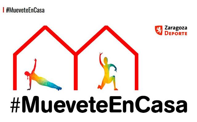 ZARAGOZA DEPORTE: #MueveteEnCasa