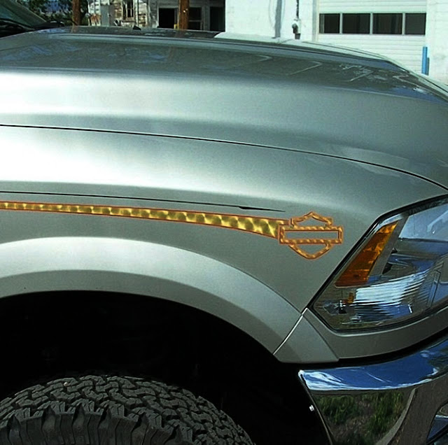 grey-dodge-ram-bend-with-gold-pinstripe