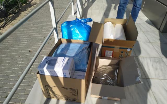 Μέσα ατομική προστασίας στο Κέντρο Υγείας Κρανιδίου από το Νοσοκομείο Αργολίδας