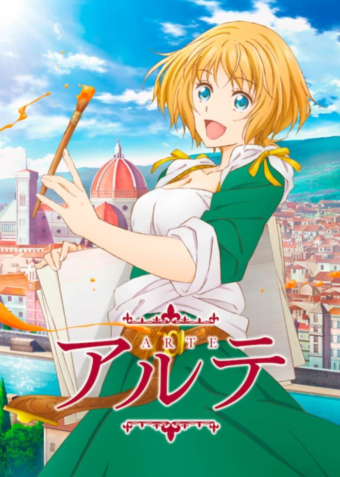 Arte (Kei Ohkubo) - anime