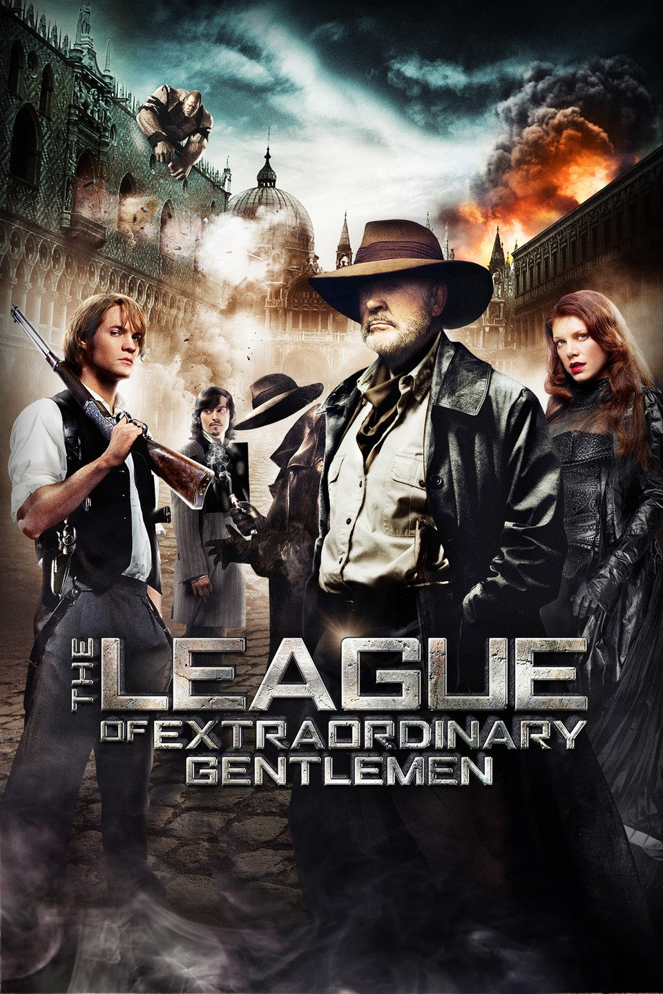 The League of Extraordinary Gentlemen 2003 Dual Audio Hindi 350MB BluRay 480p ESubs