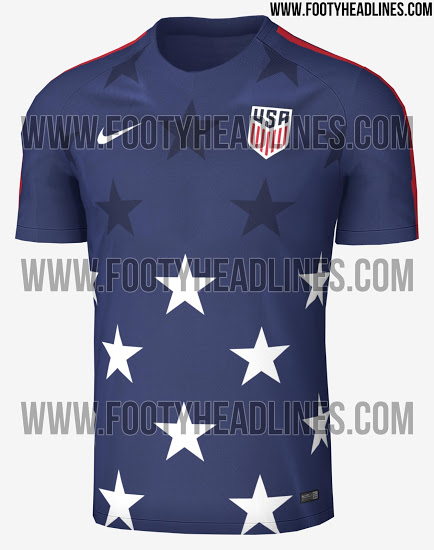 fd8a97eef FTH  Stunning USA 2017 Gold Cup Pre-Match Shirt Leaked