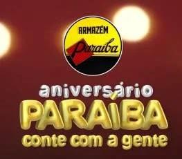 Promoção Lojas Armazém Paraíba 61 Anos Aniversário 2019