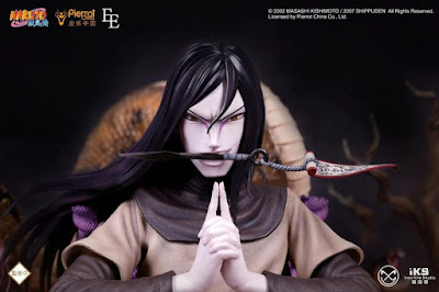 Figuras: Espectacular figura de Orochimaru de Naruto - Iron Kite Studios