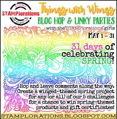Stamplorations Things with Wings blog link party