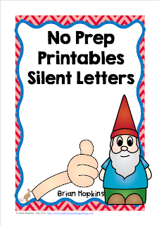 No Prep Silent Letter Printables