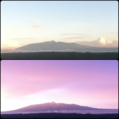 Mt. Malindang on Sunrise and Sunset