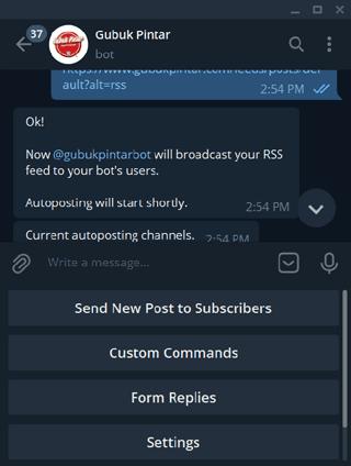 rss feeds manybot