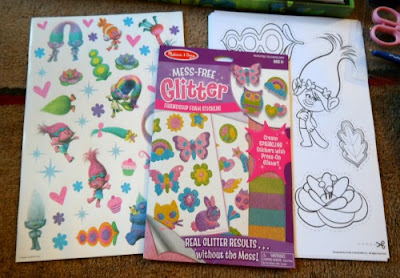 Dreamwork's Trolls Stickers and Cut-Outs