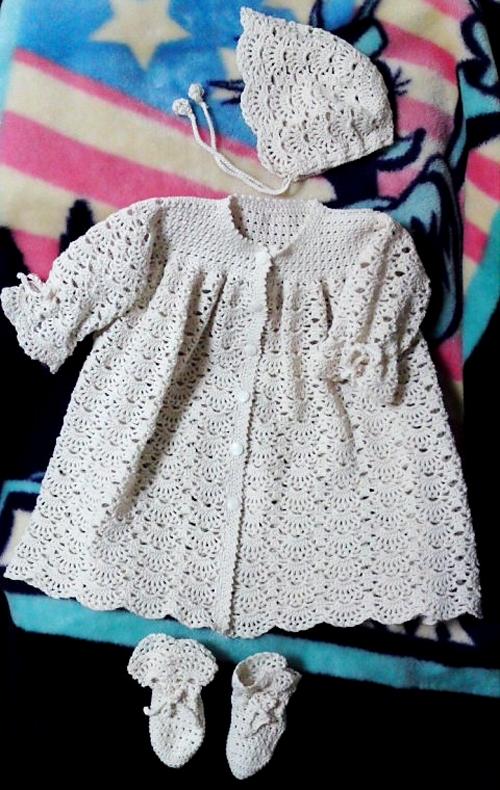 Baby Set - Free Pattern
