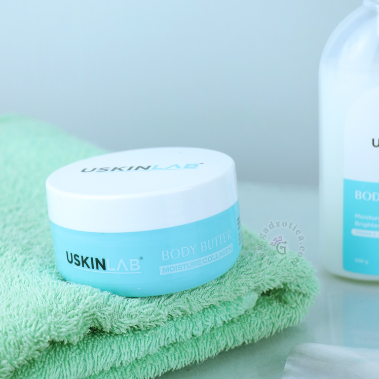Review USkinlab Body Butter Moisture Collagen