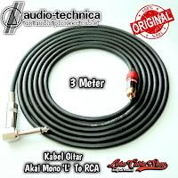 Kabel Gitar 3 Meter Jack Akai Mono L To RCA
