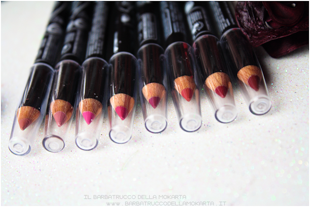 matite labbra, lippencil vegan makeup, bio makeup, review