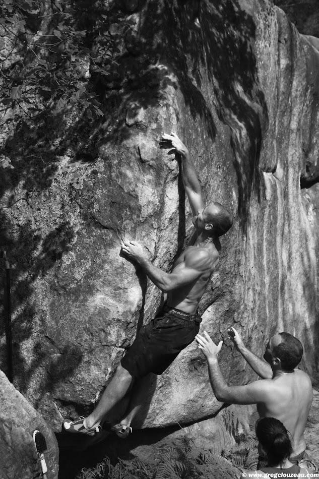 Xavier, Objectif grand angle, 5+, Bois Rond Trois Pignons, (C) 2014 Greg Clouzeau