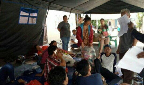 Pemprov DKI Beri Bantuan Logistik ke Korban Kebakaran Tambora