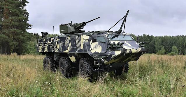Patria ra mắt xe bọc thép thế hệ tiếp theo tại DSEI