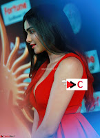 Adah Sharma in Red Deep Neck Spicy Gown ~  Exclusive 32.jpg