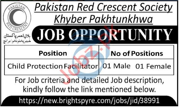 Pakistan Red Crescent Society PRCS Peshawar Jobs 2021
